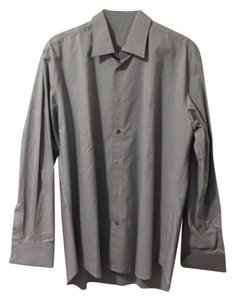 John Varvatos Button Down Shirt Gray