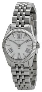 Michael Kors Silver tone Small Round Dial Ladies Designer Watch