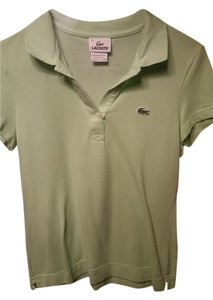 Lacoste Sporty Button Down Shirt Lime
