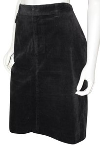 Lauren Ralph Lauren Corduroy Corduroy Pencil Skirt Black