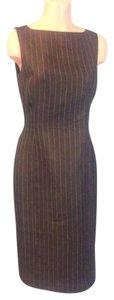 Ralph Lauren Office Pinstripe Dress