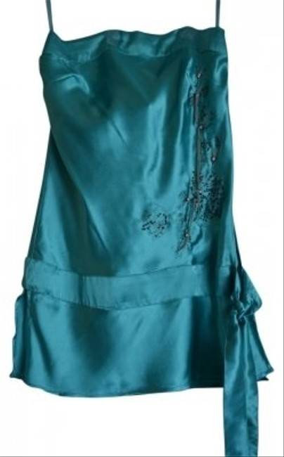 Preload https://item2.tradesy.com/images/teal-night-out-top-size-4-s-108631-0-0.jpg?width=400&height=650
