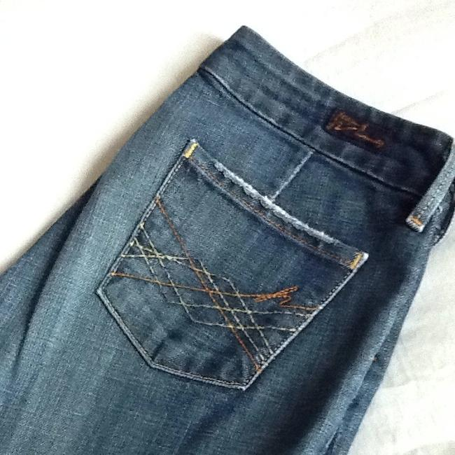 Citizens of Humanity Trouser/Wide Leg Jeans-Medium Wash Image 3
