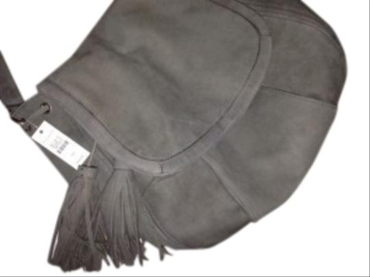 Talbots Bnwt Suede Great Size And Shape ~saddle Type Shoulder Bag