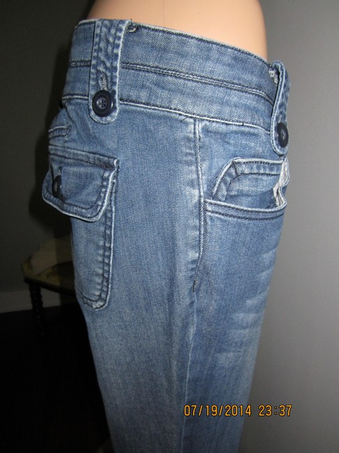 A.N.A. Jeans Versatile Basic Dress Up Or Down Boot Cut Jeans-Medium Wash