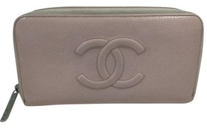 Chanel Chanel Light Pink Caviar Wallet