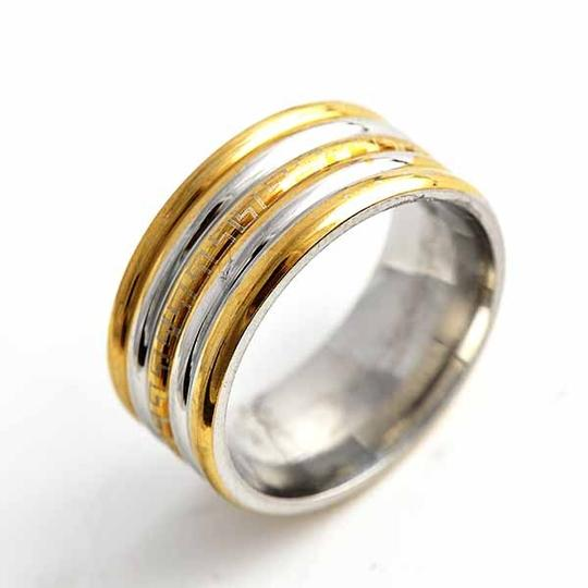 Preload https://item1.tradesy.com/images/silvergold-bogo-free-two-tone-stainless-ring-free-shipping-men-s-wedding-band-1086540-0-0.jpg?width=440&height=440