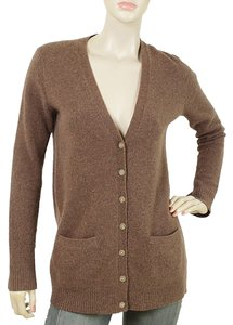 Ralph Lauren V-neck Cardigan Wool Fitted Sweater