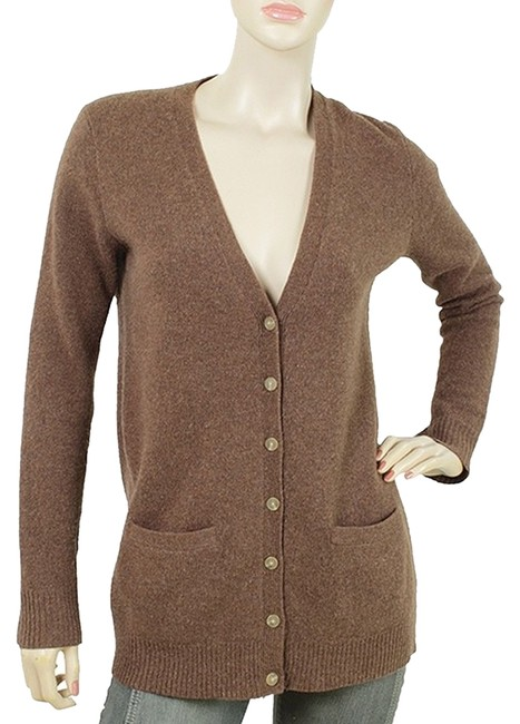 Preload https://item2.tradesy.com/images/ralph-lauren-v-neck-cardigan-wool-fitted-sweater-1086561-0-0.jpg?width=400&height=650