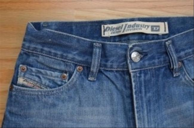 Diesel Relaxed Fit Jeans-Medium Wash