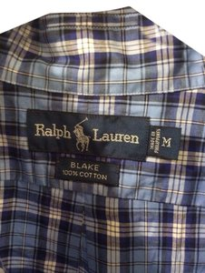 Ralph Lauren Button Down Shirt Blue