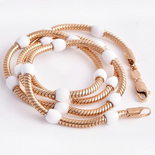 Preload https://item3.tradesy.com/images/rose-gold-bogo-free-white-enamel-bead-free-shipping-necklace-1086612-0-0.jpg?width=440&height=440