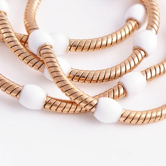 Rose Gold Bogo Free White Bead Free Shipping Necklace