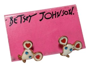 Betsey Johnson Betsey Johnson Mouse Earrings E054
