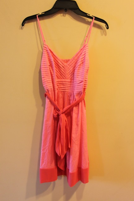 American Eagle Outfitters short dress Coral/ Pink Ae on Tradesy