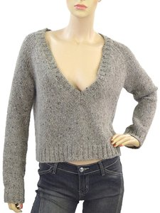 Sportmax Oversized V-neck Wool Sweater