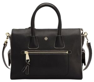 Tory Burch Tote in Black white