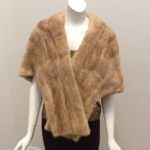 Other Fur Stole Wrap Vintage Cape