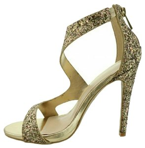 Anne Michelle Prom Wedding GOLD Sandals