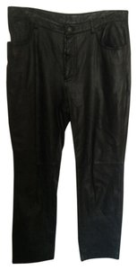 Express Straight Pants Blac