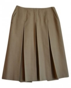 René Lezard Skirt tan
