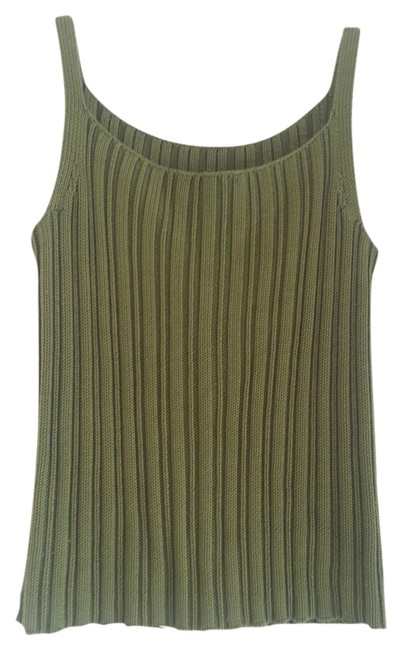 Preload https://img-static.tradesy.com/item/1086819/ann-taylor-forest-green-silk-tank-topcami-size-4-s-0-0-650-650.jpg