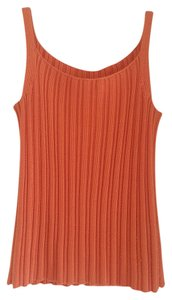 Ann Taylor Silk Top Orange