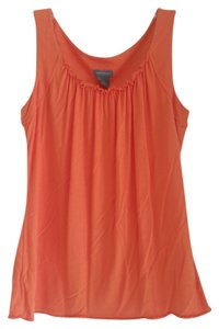 Ann Taylor Stretchy Top Orange