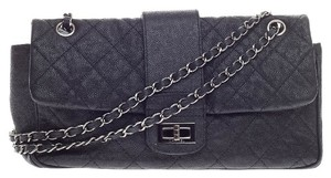 Chanel Top Handle Caviar Jumbo Shoulder Bag