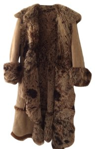 Rizal Holiday Fur Suede Winter Fall Fur Coat