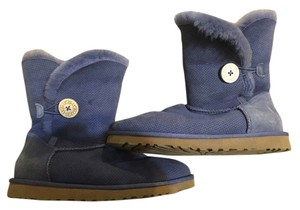 UGG Australia Casual Classic Sheepskin Light blue Boots
