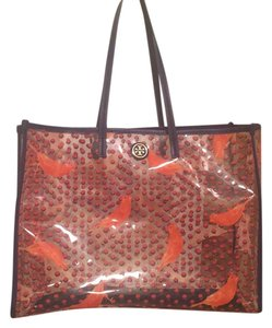 Tory Burch Tote in Blue And Orange