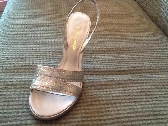 Nina Shoes Silver bling Sandals