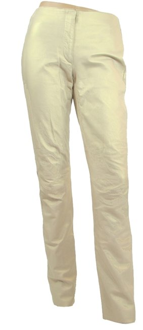 Preload https://item3.tradesy.com/images/dkny-gold-light-leather-straight-leg-pants-size-4-s-27-1086967-0-0.jpg?width=400&height=650