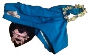 Beach Bunny Beach Bunny Blue Jeweled Bottoms
