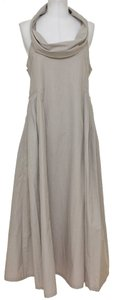 Clay Beige Maxi Dress by Bottega Veneta