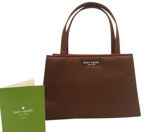 Kate Spade Nylon Evening Tote in Brown