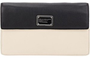 Marc by Marc Jacobs Black/beige Clutch