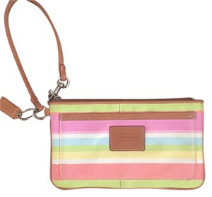 Coach Wristlet in Multicolored