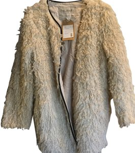 French Connection Fur Coat