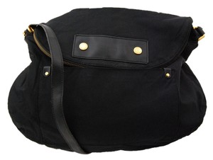 Marc by Marc Jacobs Nylon Black Messenger Bag