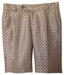 Anthropologie Bermuda Shorts Pearl/Tan