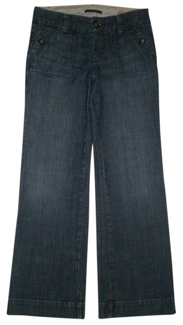 Item - Blue Dark Rinse Nwot 1969 Limited Edition 6 Trouser/Wide Leg Jeans Size 29 (6, M)