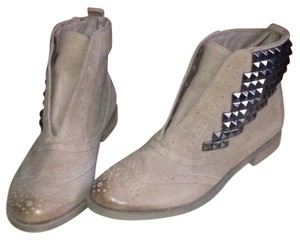 Sam Edelman Studded Tan Boots