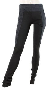 Sportmax Skinny Cotton Jersey Skinny Pants Black