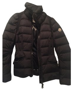 Moncler Puff Jackets Black Black Jacket Coat