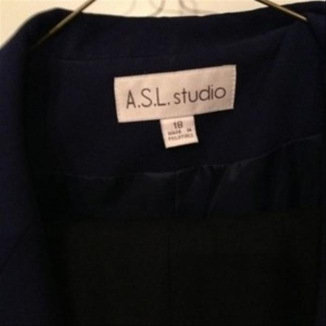 A.S.L. Studio ASL Studio Suit -blue and black - 18