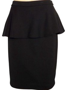 Cynthia Rowley Peplum Formal Skirt Black