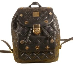 MCM Leather Vintage Backpack