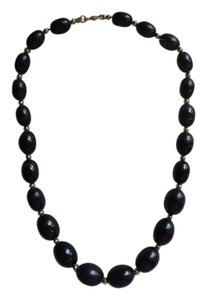 Black Bead type Necklace